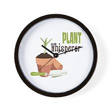 PLANT Whisperer Wall Clock