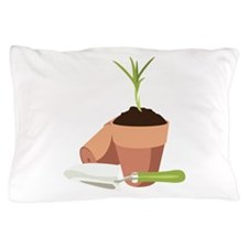 Potted Plant Gardening Pillow Case