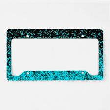 License Plate Holder Glitter Dust 1 License Plate