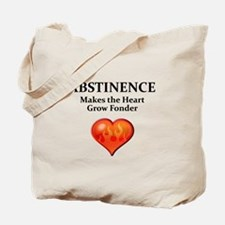 Abstinence Tote Bag