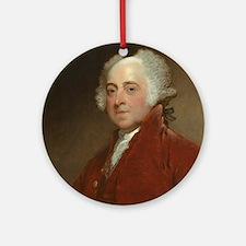 Gilbert Stuart - John Adams Round Ornament