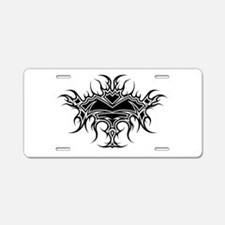 Flaming Chalice Aluminum License Plate