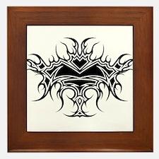 Flaming Chalice Framed Tile