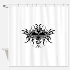 Flaming Chalice Shower Curtain
