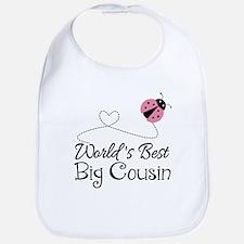 World's Best Big Cousin Bib