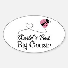 World's Best Big Cousin Decal