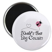 World's Best Big Cousin Magnet