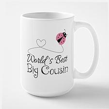 World's Best Big Cousin Mug