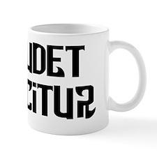 Qui audet adipiscitur Mug