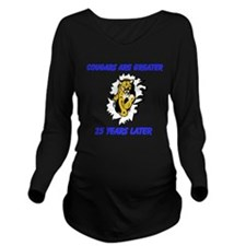 Cougars Are Greater Long Sleeve Maternity T-Shirt
