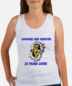 Cougars Are Greater Tank Top