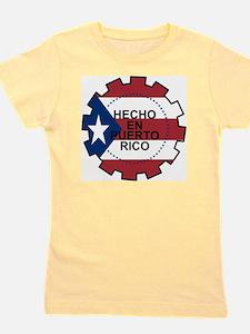 Hecho en Puerto Rico Girl's Tee