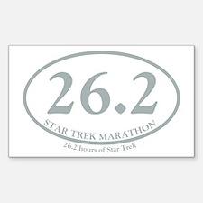 STAR TREK MARATHON Decal