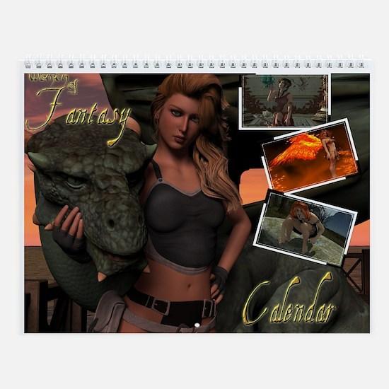 Women Of Fantasy Wall Calendar