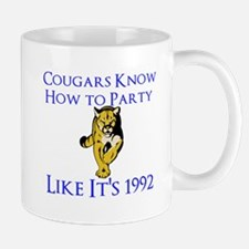 Cougars Know How to Party Mugs