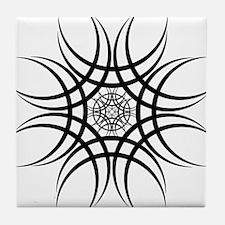 Tribal Flare Tile Coaster