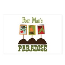 Poor Mans PARADISE Postcards (Package of 8)
