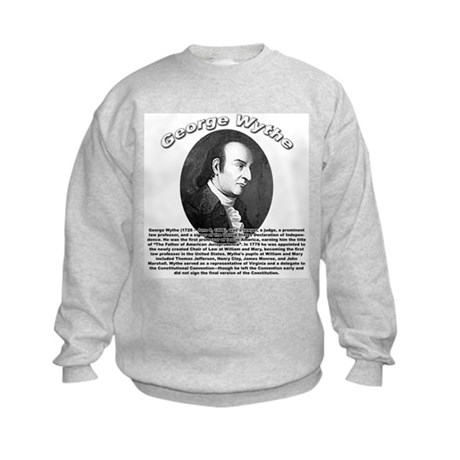 George Wythe 01 Kids Sweatshirt