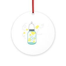LIGHTNING BUGS Ornament (Round)
