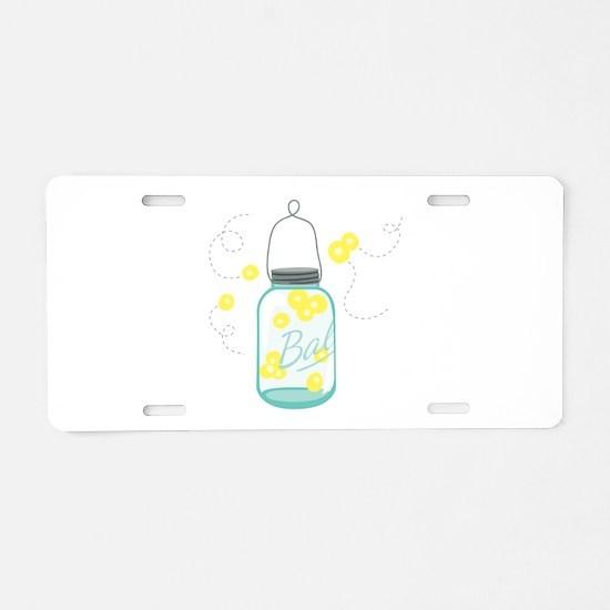 LIGHTNING BUGS Aluminum License Plate