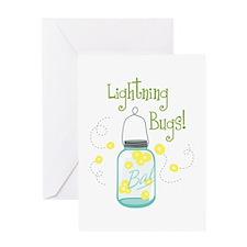 Lightning Bugs! Greeting Cards