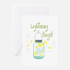 Lightning Bugs! Greeting Cards