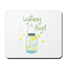 Lightning Bugs! Mousepad