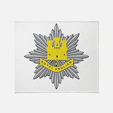 Royal Anglian Throw Blanket