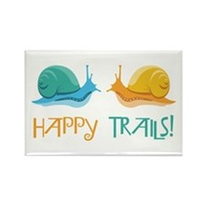 HAPPY TRAILS! Magnets
