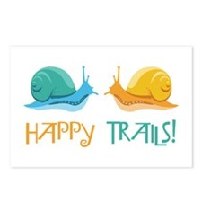 HAPPY TRAILS! Postcards (Package of 8)