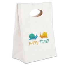 HAPPY TRAILS! Canvas Lunch Tote