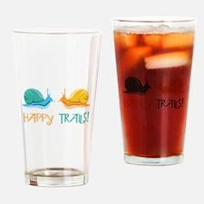 HAPPY TRAILS! Drinking Glass