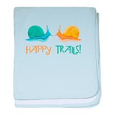 HAPPY TRAILS! baby blanket