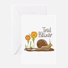 Trail Blazer Greeting Cards