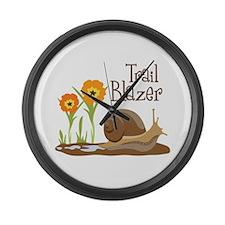 Trail Blazer Large Wall Clock