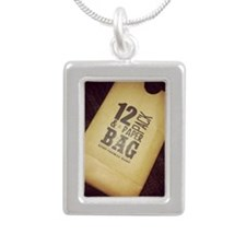 12 Pack Silver Portrait Necklace