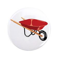 """Red Wheelbarrow 3.5"""" Button"""