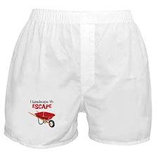 I Landscape To ESCAPE Boxer Shorts