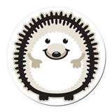 Hedgehog Round Car Magnets