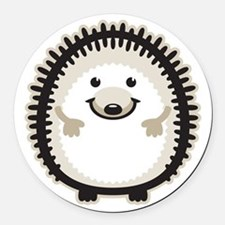 Hedgehog Round Car Magnet