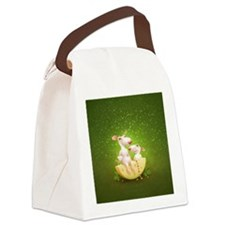 rat chesse Canvas Lunch Bag