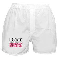 Colorguard Chose Me Boxer Shorts