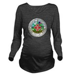 Medical Marijuana Long Sleeve Maternity T-Shirt