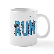 Grunge RUN Mugs - Right