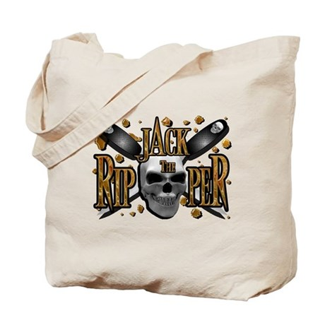 Jack the Ripper Gold Tote Bag