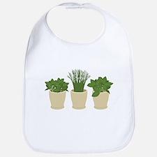 Herb Plants Bib
