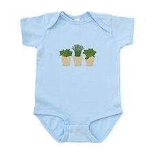 Herb Plants Body Suit