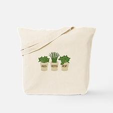 BASIL CHIVES MINT Tote Bag