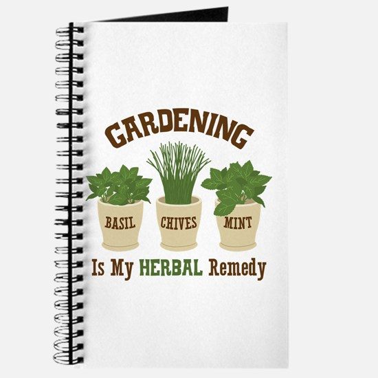 GARDENING IS MY HERBAL Remedy Journal