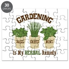 GARDENING IS MY HERBAL Remedy Puzzle